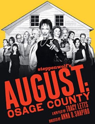 August: Osage County - Original Broadway windowcard
