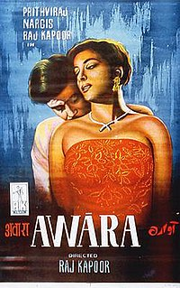 <i>Awaara</i> 1951 film by Raj Kapoor