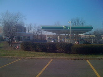 Ampm - A BP with an ampm in Cranberry Township, Pennsylvania near Pittsburgh right off the Pennsylvania Turnpike.