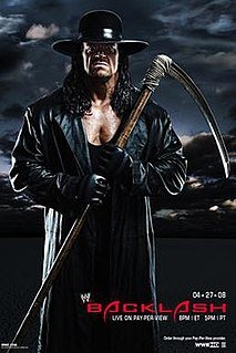 Backlash (2008) 2008 World Wrestling Entertainment pay-per-view event