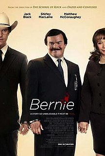 <i>Bernie</i> (2011 film) 2011 American film directed by Richard Linklater