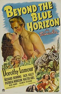 <i>Beyond the Blue Horizon</i> (film) 1942 film by Alfred Santell