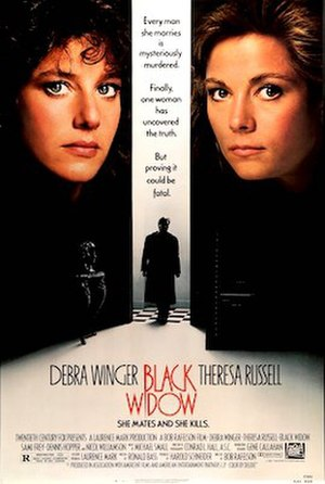 Black Widow (1987 film) - Theatrical release poster