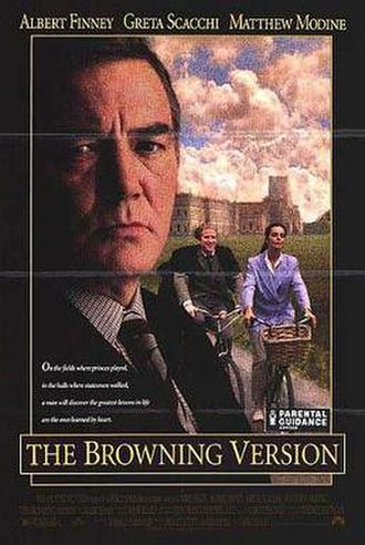 The Browning Version (1994 film) - Theatrical release poster