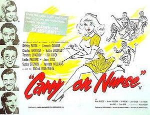 Carry On Nurse - Original UK quad poster