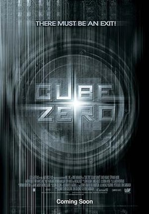 Cube Zero - Theatrical release poster