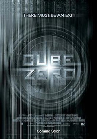Cube Zero - Theatrical release poster