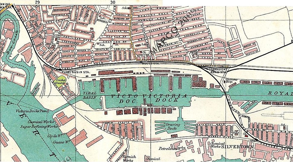 Canning Town and Royal Victoria Dock 1908