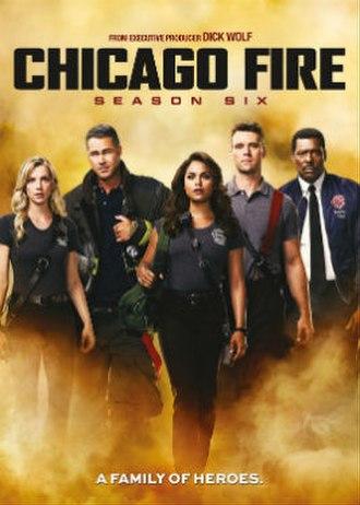 Chicago Fire (season 6) - Season 6 U.S. DVD cover