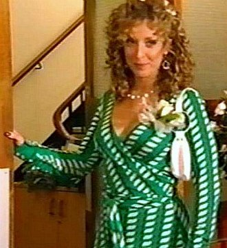 Chrissie Watts - Chrissie's style was a prominent aspect of the character. Tracy Ann Oberman wanted to bring an element of Sex and the City to the character.