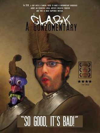 Clark: A Gonzomentary - Image: Clark A Gonzomentary Poster