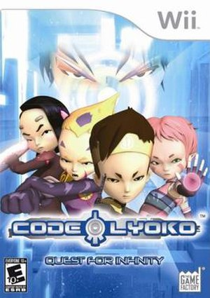 Code Lyoko: Quest for Infinity - North American Wii cover art