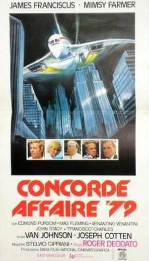 Concorde Affaire '79 - Theatrical poster