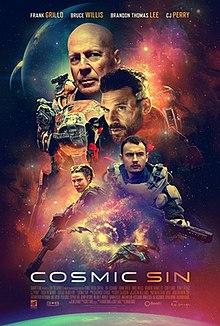 Cosmic Sin 2021 USA Edward Drake Frank Grillo Bruce Willis Brandon Thomas Lee  Action, Adventure, Sci-Fi