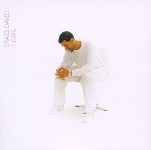 7 Days (Craig David song) - Image: Craig David 7 Days (CD 1)