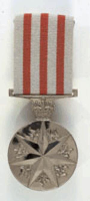 Distinguished Service Medal (Australia) - Image: DSM Australia medal