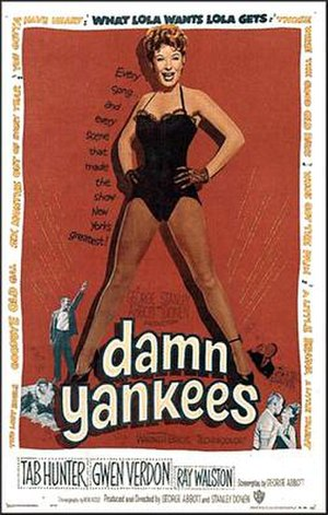 Damn Yankees (film) - 1958 movie poster
