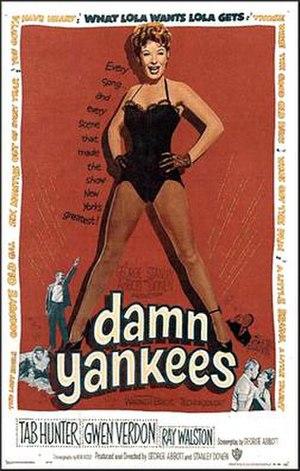 Damn Yankees (film) - 1958 movie poster