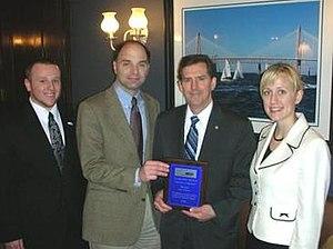 National Taxpayers Union - Senator Jim DeMint receives Taxpayers' Friend Award, 2007