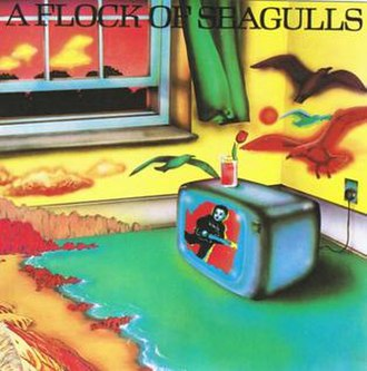 A Flock of Seagulls (album) - Image: Debut Seagulls