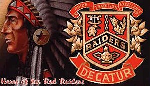 Decatur High School (Alabama) - Image: Dec Indian