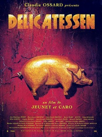 Delicatessen (film) - Original theatrical poster