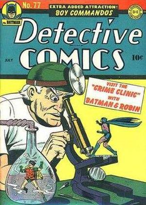 Crime Doctor (comics) - Image: Detective Comics 77