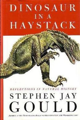 Dinosaur in a Haystack - Image: Dinosaur in a Haystack (first edition)