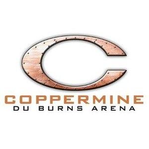 "Clarence H. ""Du"" Burns Arena - Image: Du Burns Arena Logo"