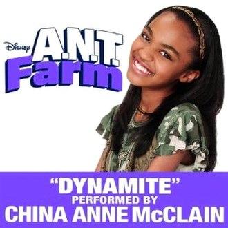 Dynamite (Taio Cruz song) - Image: Dynamite China Anne Mc Clain