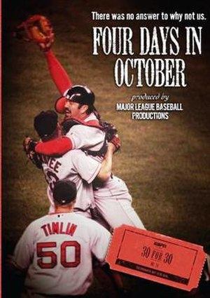 Four Days in October - Image: ESPN 30 for 30 Four Days in October poster