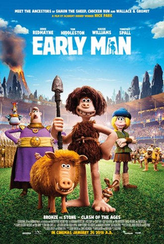 Early Man (film) - British theatrical release poster