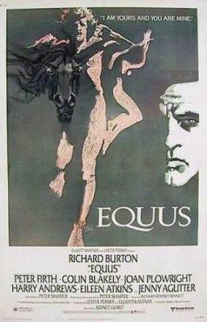 Equus (film) - Theatrical release poster
