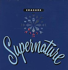 "Limited edition ""Supernature"" 12"" single cover"