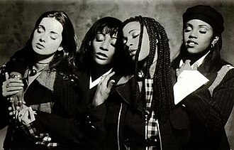 Eternal (group) - (left - right) Louise Redknapp, Vernie Bennett, Easther Bennett and Kéllé Bryan