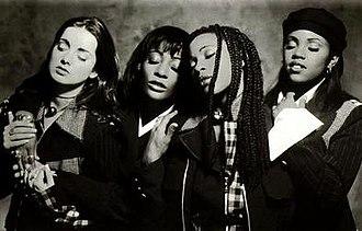 Eternal (band) - (left - right) Louise Nurding, Vernie Bennett, Easther Bennett and Kéllé Bryan