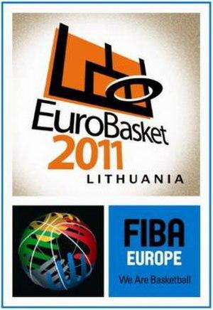 EuroBasket 2011 - Image: Euro Basket 2011 logo