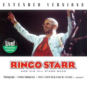 Extended Versions (Ringo Starr album) - Image: Extendedversions