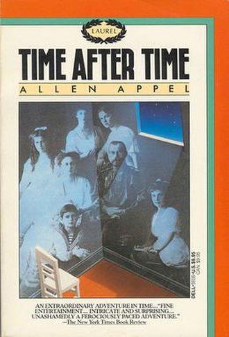 Time After Time (Appel novel) - Cover art for the 1987 Dell Laurel Leaf edition