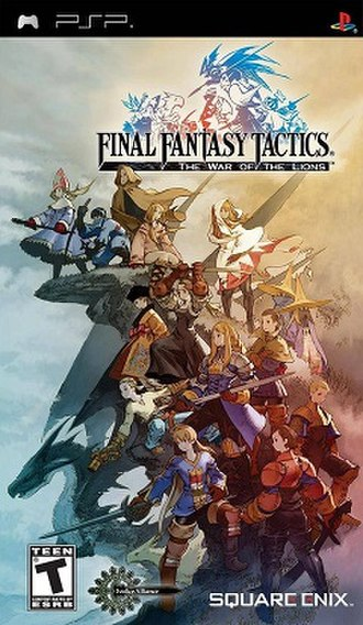Final Fantasy Tactics: The War of the Lions - Image: Fftpsp 3