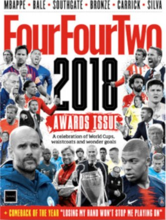 FourFourTwo - Image: Four Four Two 2018 Awards Issue cover
