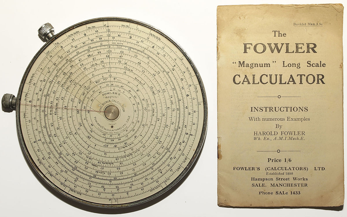 Fowler Calculators - Wikipedia