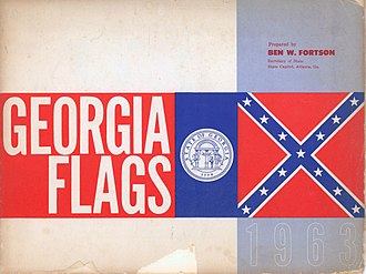 Benjamin W. Fortson Jr. - Georgia Flags by Fortson, 1963