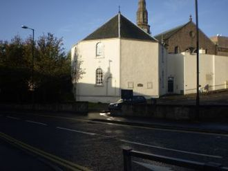 Glasite - 2009 photo of Glasite Church building in Dundee.
