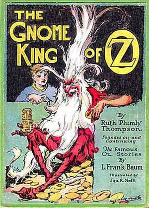 Nome King - Image: Gnome king cover