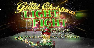 The Great Christmas Light Fight - Image: Great Christmas Light Fight Logo