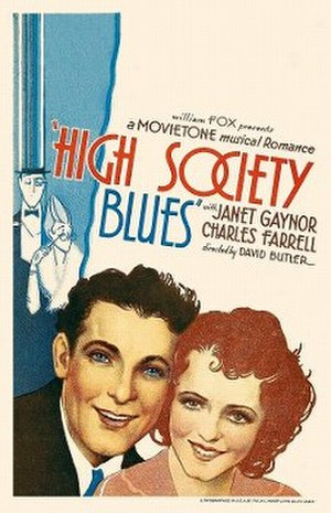 High Society Blues - original theatrical poster