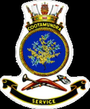 HMAS Cootamundra - Image: HMAS cootamundra crest