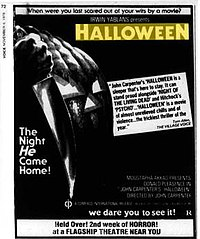 Halloween 1978 Movie Poster.Halloween 1978 Film Wikipedia