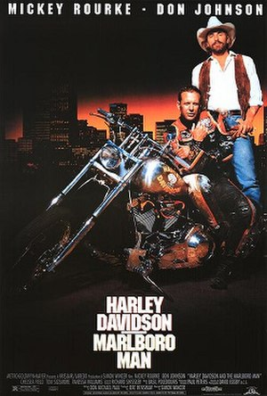 Harley Davidson and the Marlboro Man - Theatrical release poster